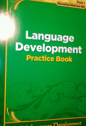 9780022042066: Language Development Practice Book, Grade 4