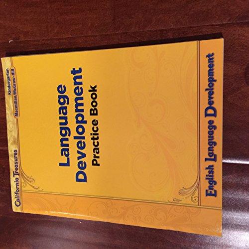 9780022042127: California Treasures Language Development Practice Book Kindergarten