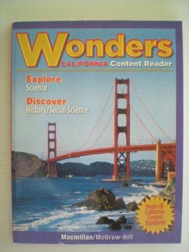 9780022043414: Wonders California Content Reader--ELD Grade 3