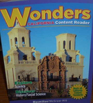 9780022043421: Wonders: California Content Reader Grade 4 (English Language Development, Time For Kids)