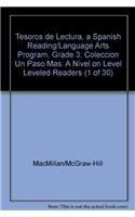 9780022044169: Tesoros de Lectura, a Spanish Reading/Language Arts Program, Grade 3, Coleccion Un Paso Mas: A Nivel on Level Leveled Readers (1 of 30)