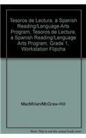 9780022044800: Tesoros de lectura, A Spanish Reading/Language Arts Program, Grade 1, Workstation Flipchart: Science/History (ELEMENTARY READING TREASURES)