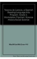 9780022044817: Tesoros de lectura, A Spanish Reading/Language Arts Program, Grade 2, Workstation Flipchart: Science History/Social Science
