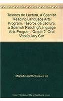 9780022046163: Tesoros de lectura, A Spanish Reading/Language Arts Program, Grade 2, Oral Vocabulary Cards