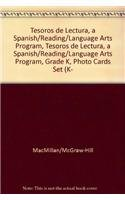 9780022046200: Tesoros de lectura, A Spanish Reading/Language Arts Program, Grade K, Photo Cards Set (K-2) (ELEMENTARY READING TREASURES)