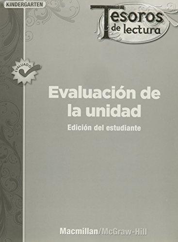 9780022049058: Tesoros de lectura, A Spanish Reading/Language Arts Program, Grade K, Unit Assessment Book