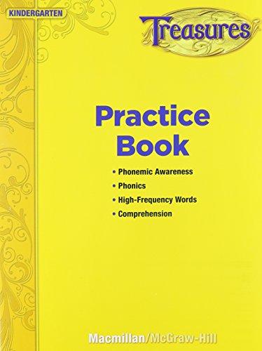 9780022062019: Treasures: Practice Book, Kindergarten