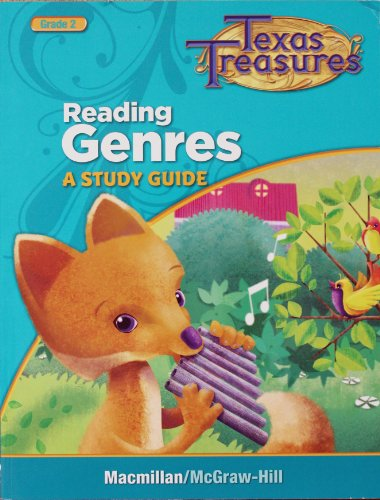 9780022062255: READING 2 GENRES STUDY GUIDE (TX ED)