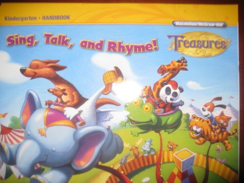 9780022062491: Sing, Talk, and Rhyme! (Treasures, Kindergarten Handbook)
