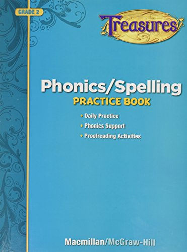 9780022062781: Treasures: Phonics/ Spelling Grade 2: Practice Book