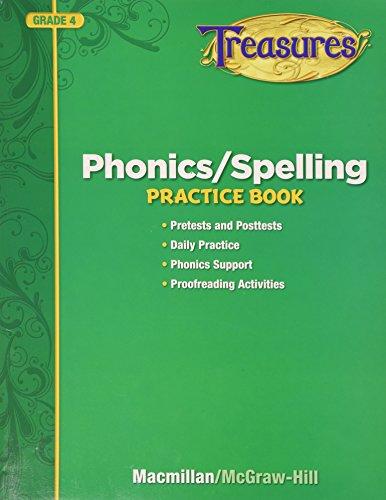 9780022062866: Phonics / Spelling Practice Book Grade 4 (Treasures)