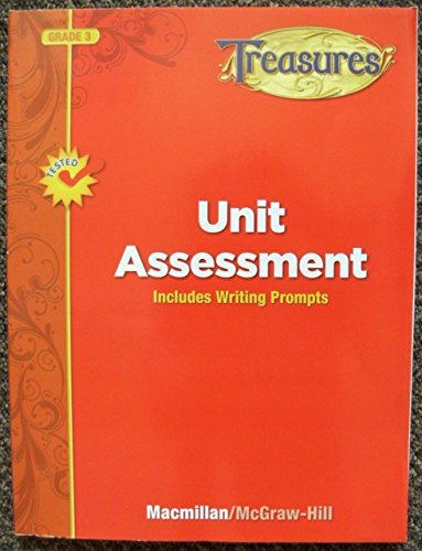 9780022063146: Unit Assessment: Includes Writing Prompts (Grade 3) (Treasures)