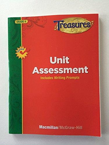 9780022063153: Treasures Unit Assessment Grade 4 2011
