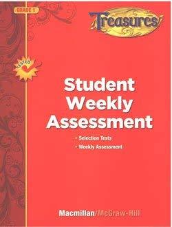 9780022063184: Treasures, Grade 1, Student Weekly Assessment