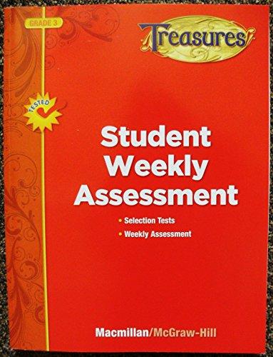 9780022063214: Treasures (Grade 3): Student Weekly Assessment
