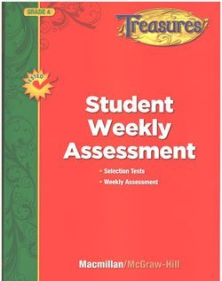 9780022063221: Treasures Grade 4: Student Weekly Assessment