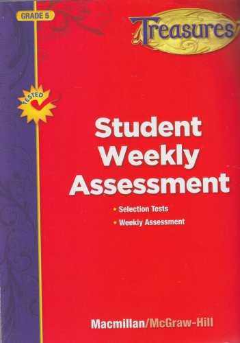 9780022063238: Treasures, Grade 5, Student Weekly Assessment
