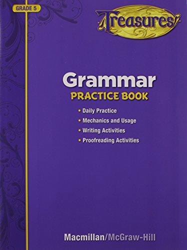9780022063269: Treasures Grammar Practice Book, Grade 5