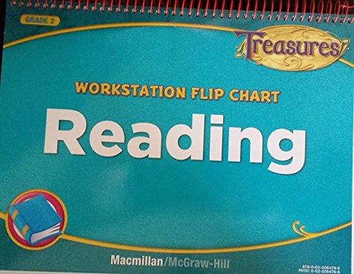 9780022064785: Treasures Workstation Flip Chart Reading 2nd Grade