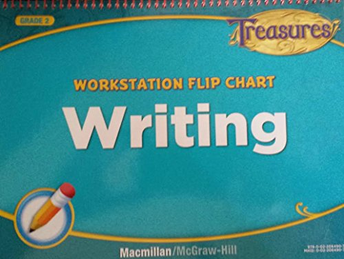 9780022064907: Treasures Workstation Flip Chart Writing 2nd Grade