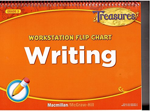 9780022064914: Treasures Workstation Flip Chart Writing Grade 3