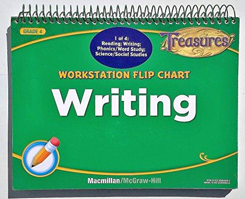 9780022064921: Treasures Workstation Flip Chart - Writing -Grade 4