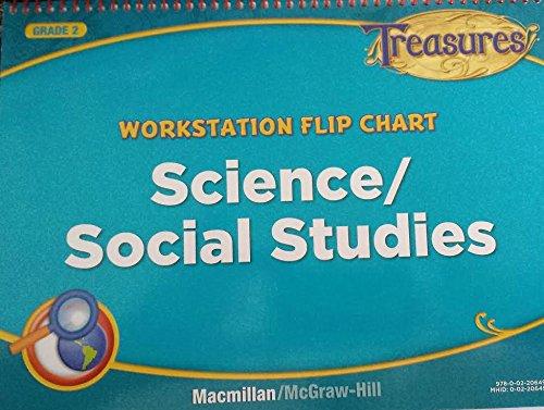 9780022064969: Treasures Workstation Flip Chart Science/Social Studies 2nd Grade