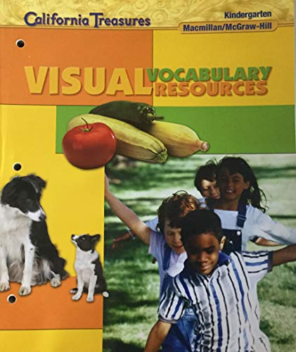 9780022065065: Treasures Visual Vocabulary Resources Kindergarten