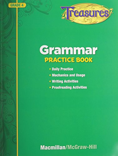 9780022065331: Treasures Grammar Practice Book, Grade 4