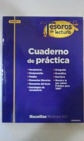 9780022072148: Tesoros de lectura Cuaderno de practica Grado 5 (Spanish Edition)