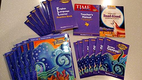9780022075194: Texas Treasures, Grade 5, Teacher Component Package