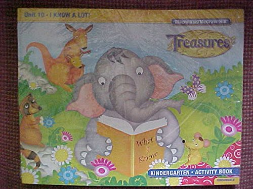 9780022075903: Treasures Kindergarten Activity Book, Set K, 11 Titles