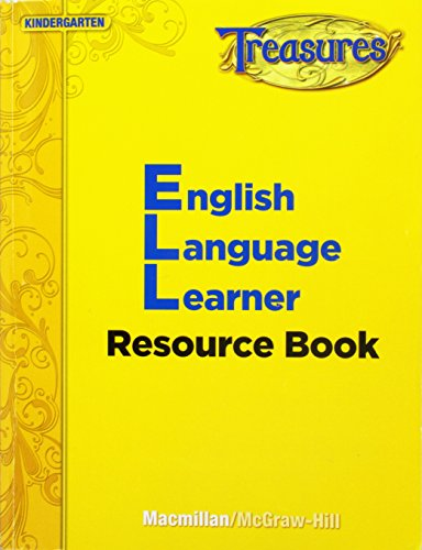 9780022078003: MacmillN McGraw-Hill Reading Treasures Kindergarten Level English Language Learner Resource Book