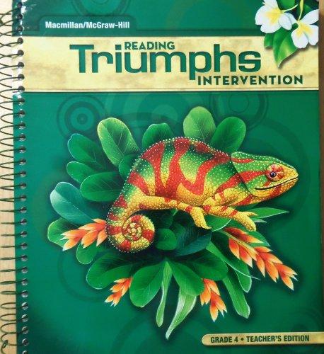 9780022078539: Reading Triumphs Intervention, Grade 4 Teacher Manual
