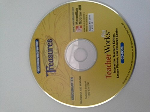9780022079765: Teacherworks Interactive Teacher's Edition Lesson Planner, and Resource Center CD-ROM (Treasures Kindergarten)