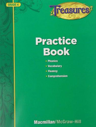 9780022080150: Treasures Practice Book: Grade 4