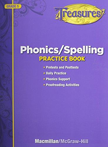 9780022080174: Phonics/Spelling, Grade 5: Practice Book