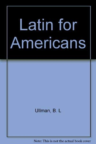 9780022337803: Latin for Americans