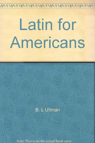 9780022338404: Latin for Americans: 2nd Book, Teacher's Manual and Key