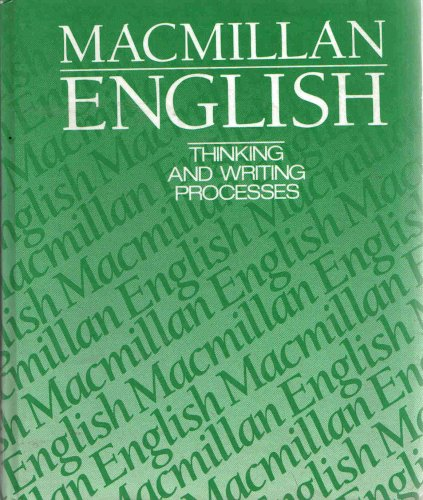 9780022425302: Macmillan English 9: Thinking And Writing Processes