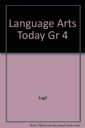 9780022435066: Language Arts Today Grade Four