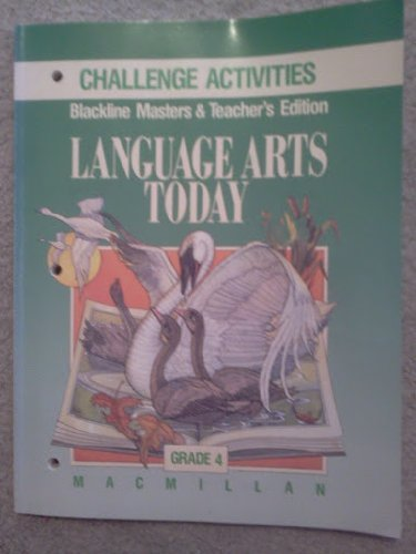 9780022435592: Language Arts Today: Blackline Masters&Teacher's Edition, Challenge Activities (Language Arts Today, Grade 5)