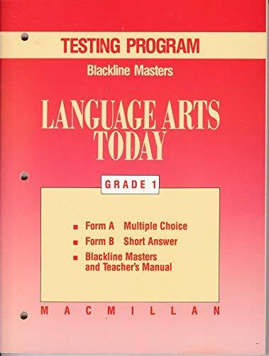 Language Arts Today, Grade 1 Testing Program: Staff