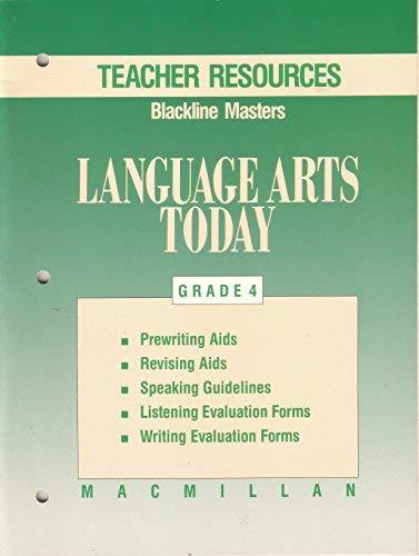 Macmillan Language Arts Today Grade 4 Teacher: macmillan