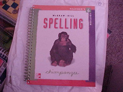 9780022442392: Mcgraw Hill Spelling Teacher S Edition Level 6