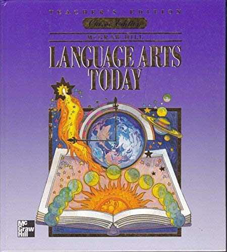 9780022443146: Language Arts Today 8th Grade Teacher Edition