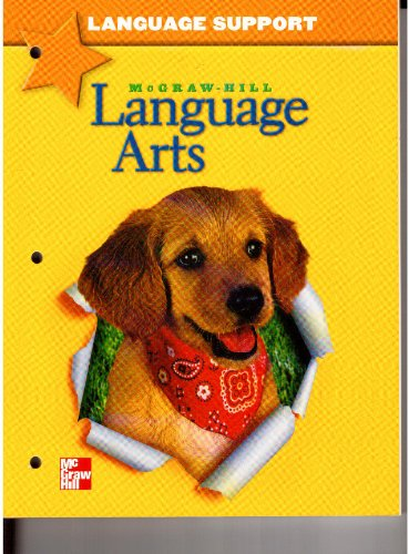 9780022447342: Language Support Grade 1 (McGraw Hill Language Arts, Lesson Practice Masters)