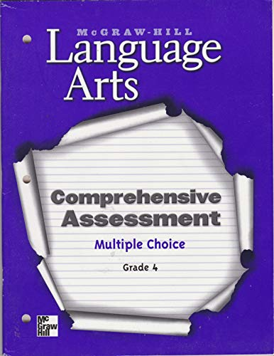 9780022447649: Magraw-hill Language Arts Comprehensive Assessment Multiple Choice Grade 4