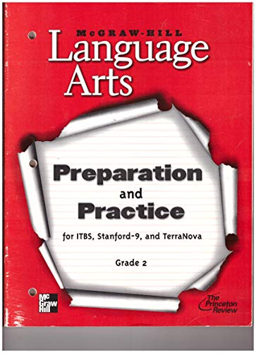 9780022447755: McGraw-Hill Language Arts: Preparation and Practice for ITBS, Stanford 9, and TerraNova, Grade 2