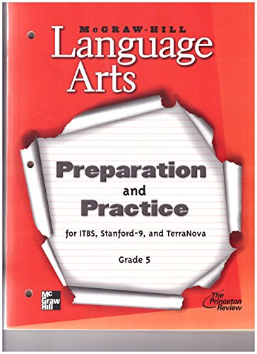 9780022447786: McGraw-Hill Language Arts, Grade 5: Preparation & Practice for ITBS, Stanford-9, and TerraNova